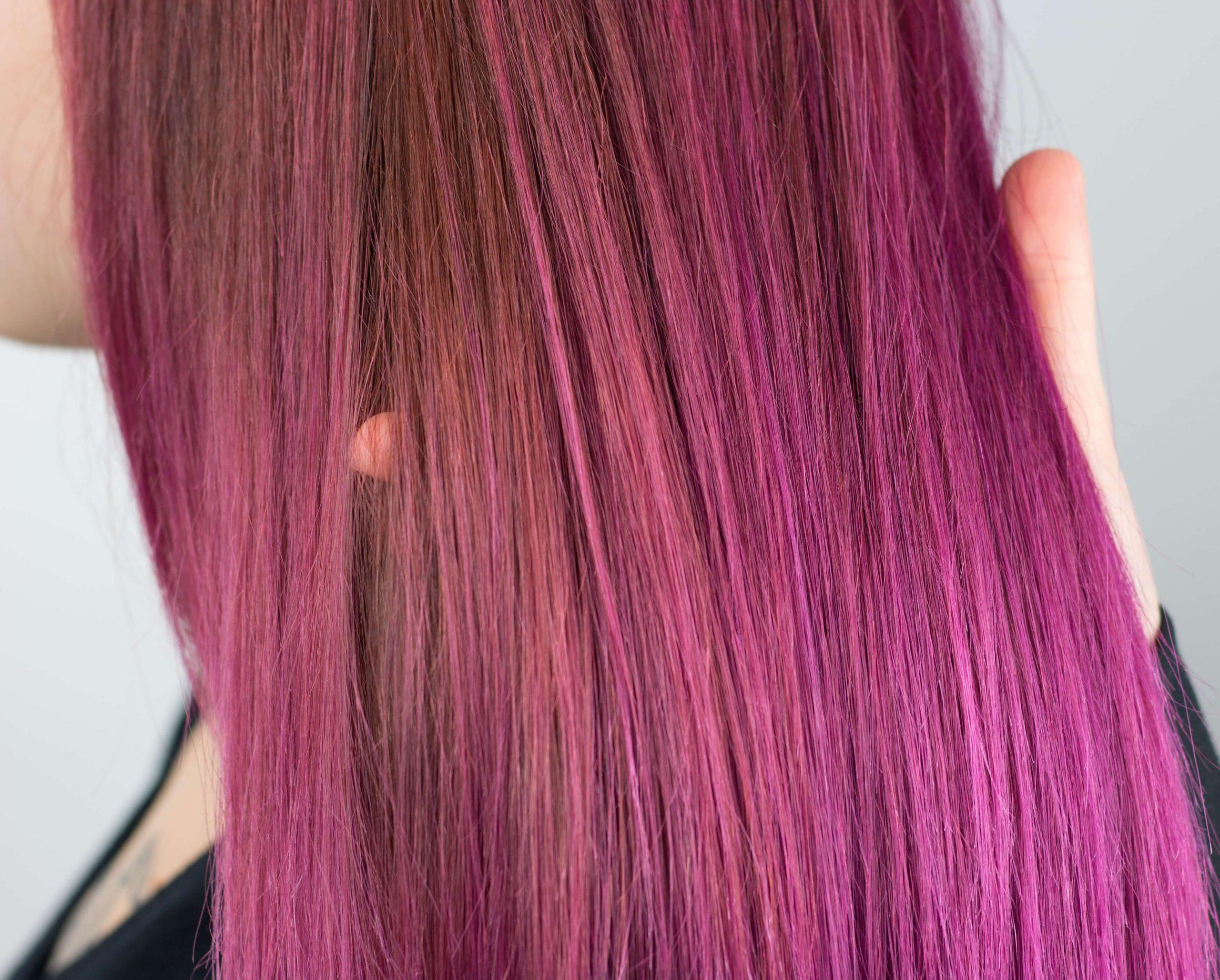 Pink Balayage melír